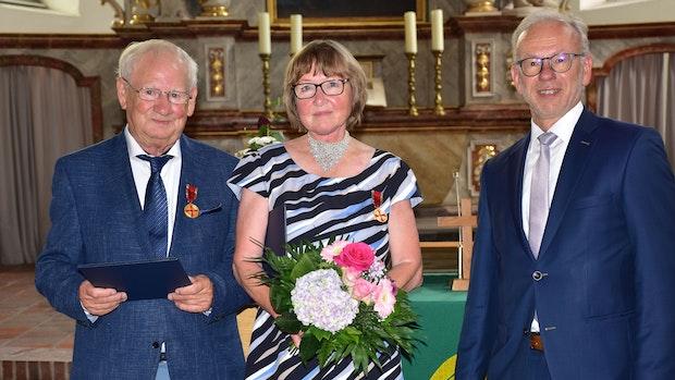 Bundespräsident würdigt Engagement des Ehepaars Kleier für Kehlkopfoperierte