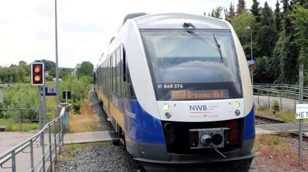 Bauarbeiten behindern den Bahnverkehr der Nordwestbahn