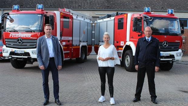 Vechta hat zweites Fahrzeug für den Katastrophenschutz bekommen