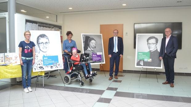 Ausstellung gibt Menschen mit Beeinträchtigungen eine Stimme