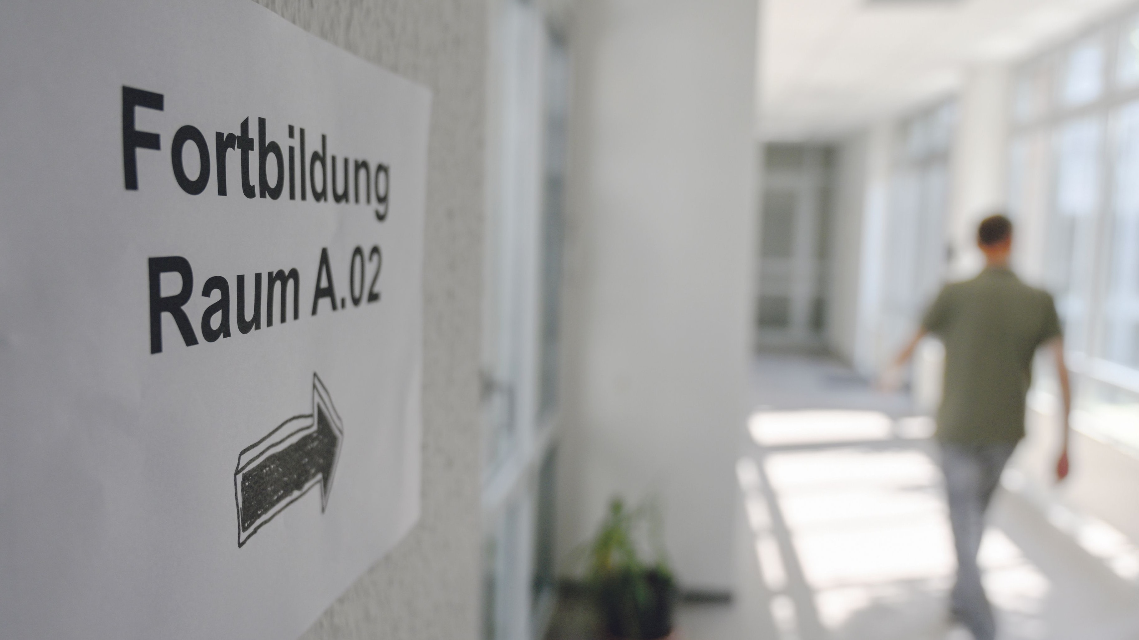 Fortbildung im Arbeitsalltag: Kleine und mittelständische Unternehmen haben Probleme, diese zu organisieren. Symbolfoto: Hermes