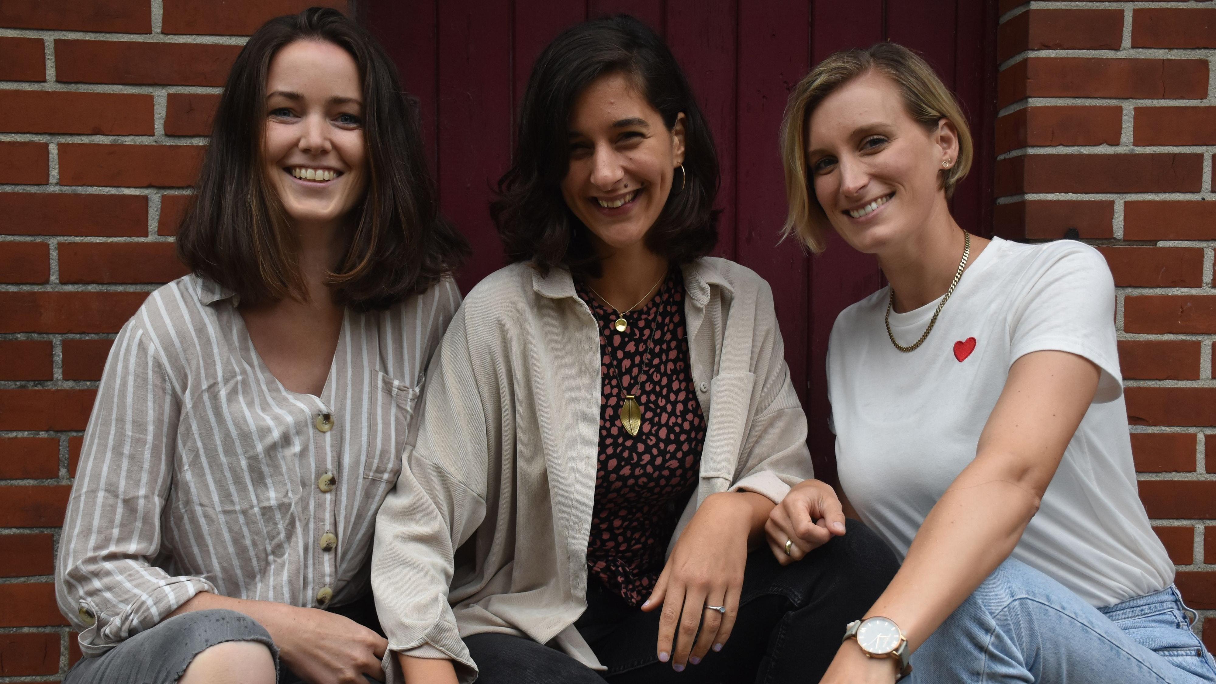 3 Freundinnen mit einem Faible für Kunst und Kultur: (von links) Silke Knies, Katharina Fröhlich und Andrea von Lehmden. Foto: Timphaus